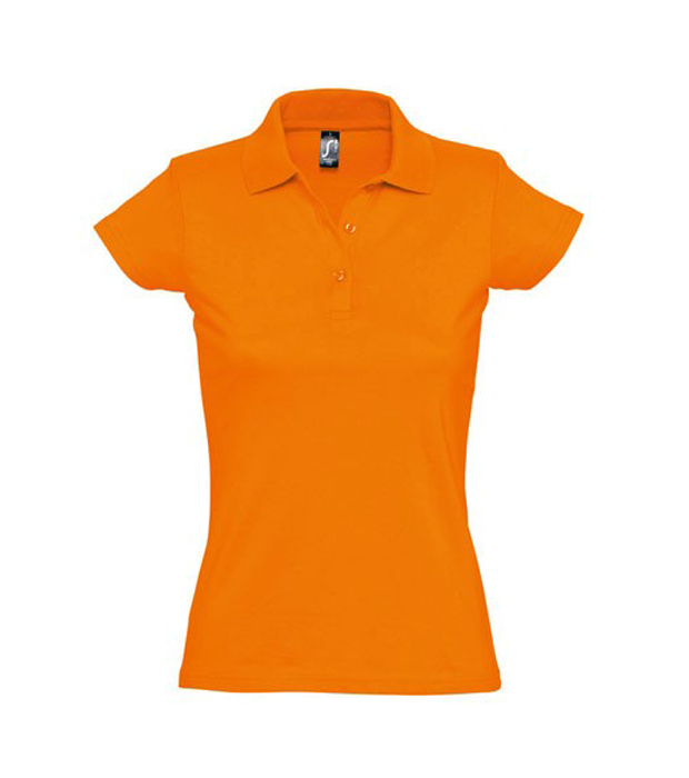 Prescott women polo shirt chef image workwear for Polo shirts without buttons